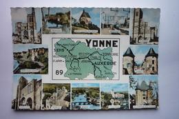La Departementale 89 - Sens-brienon-st Julien Du Sault-migennes-auxerre-chablis-mery Sur Yonne-avallon-vezelay-joigny - France