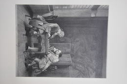 GRAVURE 952 / LA PARTIE D'ECHECS D'après MEISSONIER Par AUGUSTE THOMAS MARIE BLANCHARD - Estampes & Gravures
