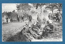 ARMEE FRANCAISE INFANTERIE AU CAMPEMENT - War 1914-18