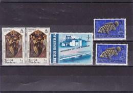HONDURAS BRITANIQUE  : Y&T :216A**-253**-278** - Brits-Honduras (...-1970)