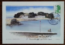 Oblitération 1er Rassemblement Des VIEILLES COQUES / Bateaux - DOUARNENEZ - 1986 - France
