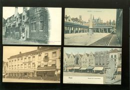 Beau Lot De 60 Cartes Postales De Belgique  Bruges      Lot 60 Postkaarten Van België  Brugge - 60 Scans - Cartes Postales
