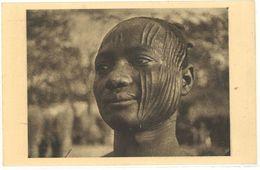 TCHAD - Afrique Equatoriale Française - Un Sara De Fort Archambault (Cicatrices = Tribu) Photo René Moreau     (103380) - Ciad