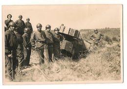 76 Bois L'eveque Char Tank Carte Photo - Matériel