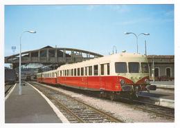 24 Gare De Périgueux N°242 Train 1615 Limoges Agen Autorail X 2829 En 1966 VOIR DOS - Périgueux