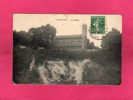 78 Yvelines, Saint-Cyr, Le Castel, 1909, (Boucher, Café De La Gare) - St. Cyr L'Ecole