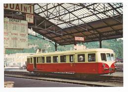 12 Capdenac Gare Vers Figeac N°231 Train 1906 à Destination De Cahors Autorail 150 Ch X5839 En 1966 VOIR DOS - Non Classés