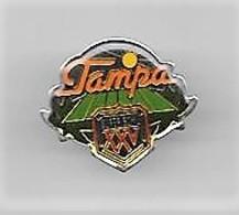 PINS SPORTS BASEBALL TAMPA SUPERBOWL XXV / 33NAT - Baseball