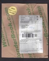 USA: Parcel Fragment (cut-out) To Netherlands, 2018, Via Cheaper Mail Handling: Deutsche Post DHL Germany (minor Damage) - Verenigde Staten