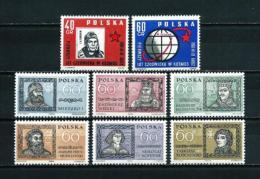 Polonia  Nº Yvert  1090/1-1096/9  En Nuevo - 1944-.... République