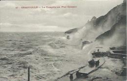 Dégâts Causés Par La Tempête Au Plat Gousset - Granville