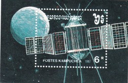KAMPUCHEA  SPACE 1988 - Kampuchea