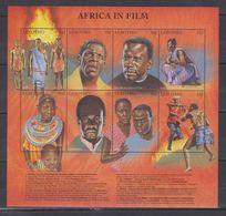 G65. MNH Lesotho Art Cinema Actors - Cinema