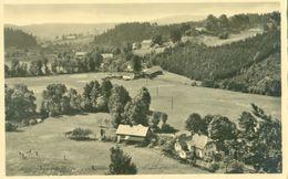 Srbska Kamenice (Windisch Kamnitz); Panorama Aus Dem Fenstern Des Gasthauses Zur Kahnfahrt - Nicht Gelaufen. - Tchéquie
