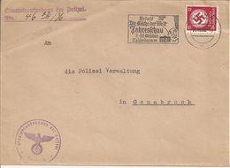 Brief Met Propaganda Die Küche Dere Welt. 14/10/1936. - Allemagne