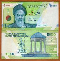 Iran 10000 Rials 2017 UNC - Iran