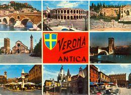 Italie - Verona Antica - Multivues - Vitove Editore Nº FC 58 - Ecrite, Timbrée - 5590 - Verona
