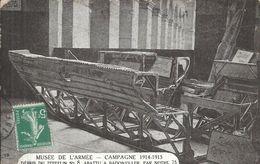 MEUSE - 54 - BADIBVILLER - Campagne 1914-15 - Débris Du Zeppelin - Musée De L'armée - Flugwesen