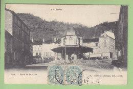 BORT : Place De La Halle. 2 Scans. Edition Eyboulet - France