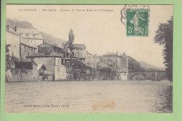 BORT : Quartier Du Pont Et Rives De La Dordogne . 2 Scans. Edition Malroux - France