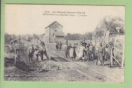 BOULOGNE LA GRASSE : La Gare, Aiguille D'entrée. TBE. 2 Scans. Edition Wargnier - Autres Communes