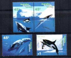 Australian Antarctic Territory - 1995 - Whales & Dolphins - MNH - Territoire Antarctique Australien (AAT)