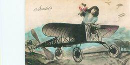Enfants   En Avion , Amitiés     S916 - Scene & Paesaggi