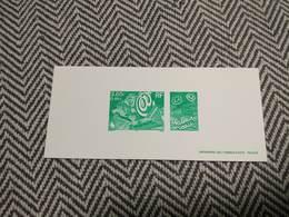 GRAVURE 2000 3E MILLENAIRE MEILLEURS VOEUX - Epreuve De Luxe De L'Imprimerie Des Timbres Poste - Epreuves De Luxe