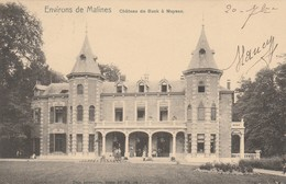 ENVIRONS DE MALINES ,CHATEAU De BUCK  à MUYSEN , Kasteel ,(Muizen-Bij-Mechelen )Nels,série 30 ,n° 59 - Malines
