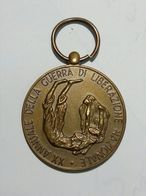 Medaglia In Bronzo - Brigate D'Assalto Garibaldi (XX Annuale Della Guerra Di Liberazione Nazionale) Non Incisa - Italia