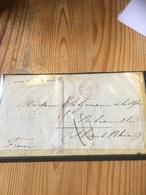 Enveloppe ALEXANDRIA - COLOMBO  VIA MARSEILLE LYON POUR LE HAUT RHIN À VOIR - Marcophilie (Lettres)