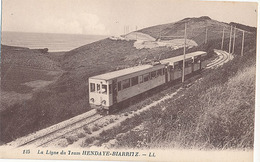 LA LIGNE DU TRAM - N°125 - HENDAYE BIARRITZ (CP DE CARNET) - Ohne Zuordnung