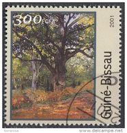 """1214 Guinea Bissau 2001 Sc. 1214 """"Alberi"""" Quadro Dipinto Da C. Monet Impressionismo  Paintings Used - Guinea-Bissau"""