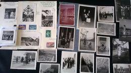 23 PHOTOS ORIGINALES + 4 TIMBRES Neuf Exposition Universelle Et Internationale De Bruxelles De 1958 Photographie Timbres - Obj. 'Remember Of'