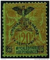 Nouvelle Caledonie (1903) N 74 * (charniere) - Unused Stamps