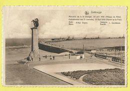 * Zeebrugge (Kust - Littoral) * (Nels, Ern Thill) Mémorial De La Saint Georges, Attaque Du Mole, St Joorisdag, Pier Rade - Zeebrugge