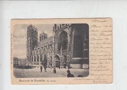 BELGIO  - STE GUDULE  1900 - Monumenti, Edifici
