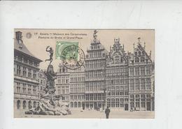 BELGIO  -ANVERS . MAISONS DES CORPORATIONS - 1910 - Belgio