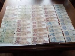 Grèce 100 Billets état -moyen -très Moyen Et Usagés (PRIX DE DEPART MINUS) - Coins & Banknotes