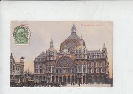 ANVERS - LA NOUVELLE GARE CENTRALE  1910 - Belgio