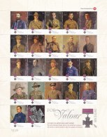 New Zealand 2011 Victoria Cross For Valour Large Sheet MNH - New Zealand