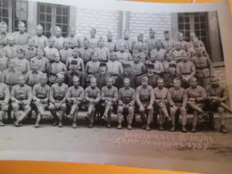 Photographie/ Souvenir Des 15 Jours/ Camp D'Auvours /Groupe De Soldats /1937     PHOTN311 - Guerre, Militaire