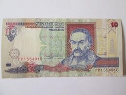 Ukraine 10 Hryven 1994 Banknote In Very Good Conditions - Ukraine