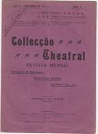 PORTUGAL MAGAZINE - COLLECÇÃO TEATRAL Nº4 - 1911 - Libri, Riviste, Fumetti