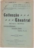 PORTUGAL MAGAZINE - COLLECÇÃO TEATRAL Nº2 - 1911 - Libri, Riviste, Fumetti