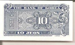 THE BANK OF KOREA   10 JEON - Corée Du Sud