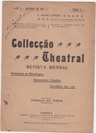 PORTUGAL MAGAZINE - COLLECÇÃO TEATRAL Nº3 - 1911 - Libri, Riviste, Fumetti
