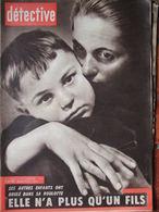 Détective N°706 (8 Janv 1960) L Entzminger - Phare De La Hague - Drame Roulotte Chateauroux - R Devos - Livres, BD, Revues