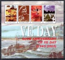 Niue 2005 Yvert 816-19, 60th Ann. End Of Second World War, WWII - MNH - Niue