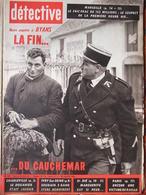 Détective N°760 (20 Janv 1961) A Byans - M Schuler - Marseille Mystère De La Chambre Forte - Ivry - Boeken, Tijdschriften, Stripverhalen